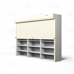 rolling shelving security doors