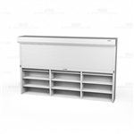 roll up file shelving doors