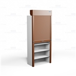 rolling security shutters for shelving