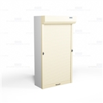 locking storage shelving doors