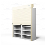 office shelving security doors