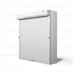 rolling doors for storage shelving security