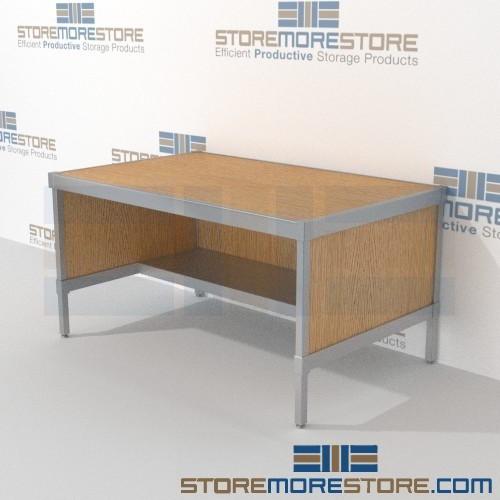 Outstanding Mail Services Bench Distribution With Half Storage Shelf 69 13 16W X 24 3 4D X 42H Sms 90 Ch692442B Inzonedesignstudio Interior Chair Design Inzonedesignstudiocom