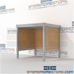 Mail room sort table is a perfect solution for incoming mail center durable work surface and lots of accessories built from the highest quality materials Extremely large number of configurations Let StoreMoreStore help you design your perfect mailroom