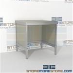 Mail center adjustable table is a perfect solution for manifesting and shipping center built for endurance and comes in wide range of colors built from the highest quality materials Extremely large number of configurations Perfect for storing mail tubs