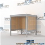 Increase employee moral with mail mobile workbench mail table weight capacity of 1200 lbs. with an innovative clean design built from the highest quality materials Full line for corporate mailroom Let StoreMoreStore help you design your perfect mailroom