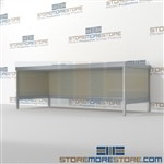 "Basic Console 83-1/2""w x 30""d x 36""h, #SMS-90-CT843036BCOR"