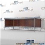 "Basic Console 83-1/2""w x 36-7/16""d x 30""h, #SMS-90-CT843630BCOR"