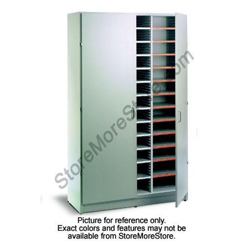 Locking Mail U0026 Literature Sorter Cabinet