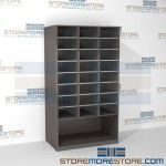 Freestanding Mail Sorter Bottom Storage Area FSM361266SB