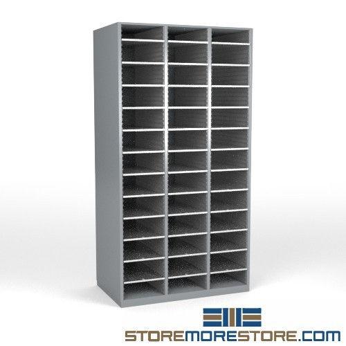 Freestanding Sorting Shelves Legal Depth Hamilton Sorter