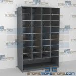 Mail Cubbies with Bottom Storage Area FSM481272SB