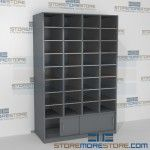 Mailroom Sorting Bins Bottom Sliding Doors FSM481276SBD