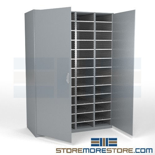 cabinet for sorting documents with doors hamilton sorter