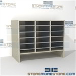Hamilton Sorter L3-24E6 | SMS-90-L3-24E6 | 10550 Postal Furniture | Mailroom Furniture | Mail Equipment | Hamilton Sorter | Sorter | Mail Boxes