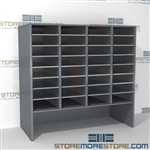 Hamilton Sorter L4-36E12 | SMS-90-L4-36E12 | 10550 Postal Furniture | Mailroom Furniture | Mail Equipment | Hamilton Sorter | Sorter | Mail Boxes