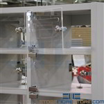 "Front Clear Plexiglass Door with lock, Standard/Legal (11"" Wide x 24"" High), #SMS-90-PLXS-24F-L"