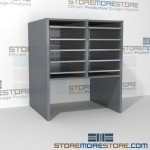 Hamilton Sorter S2-18OBE12 | SMS-90-S2-18OBE12 | 10550 Postal Furniture | Mailroom Furniture | Mail Equipment | Hamilton Sorter | Sorter | Mail Boxes