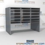 Hamilton Sorter S3-18OBE12 | SMS-90-S3-18OBE12 | 10550 Postal Furniture | Mailroom Furniture | Mail Equipment | Hamilton Sorter | Sorter | Mail Boxes