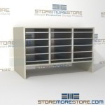 Hamilton Sorter S3-18OBE6 | SMS-90-S3-18OBE6 | 10550 Postal Furniture | Mailroom Furniture | Mail Equipment | Hamilton Sorter | Sorter | Mail Boxes