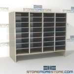 Hamilton Sorter S4-36E6 | SMS-90-S4-36E6 | 10550 Postal Furniture | Mailroom Furniture | Mail Equipment | Hamilton Sorter | Sorter | Mail Boxes