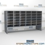 Hamilton Sorter S6-30OBE12 | SMS-90-S6-30OBE12 | 10550 Postal Furniture | Mailroom Furniture | Mail Equipment | Hamilton Sorter | Sorter | Mail Boxes