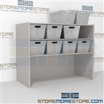 "4 Level Bulk Sort Unit 69-13/16""w x 19""d x 48""h, #SMS-90-SB691948"