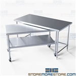 Stainless Nesting Instrument Tables Cleanroom Instruments NT-3060-48 Tarrison