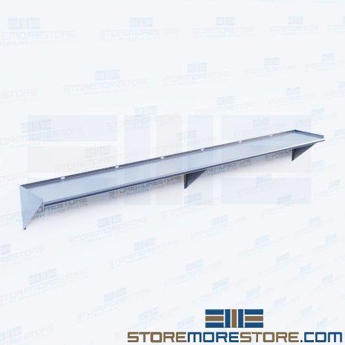 stainless wall shelf 96 long cleanroom storage rack ws 1296 16 rh storemorestore com