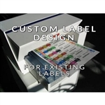 Custom label design to match customer's current filing system, #SMS-95-Label-tech