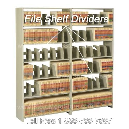 Tennsco Legal Size File Divider Fdp 1108 L Amp T Shelving