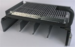 Raypak WH Econopak 005216F Burner Tray w/Burners (Sea Level)