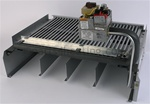 Raypak 005224F Burner Tray R405 w/ Valve Natural STG-Kit