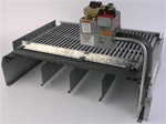 Raypak 005228F Burner Tray w/ Gas Valve R405 LP STG Kit