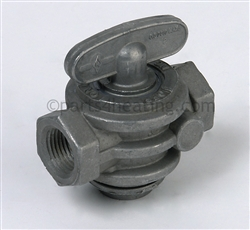 Raypak B (BOOSTER) 006543F Gas Valve Manual Shut-Off (Not Shown)