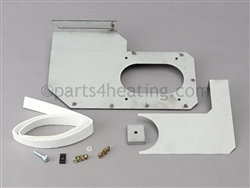 Raypak Delta Limited 007663F Air Shutter Assembly (Left Hand)
