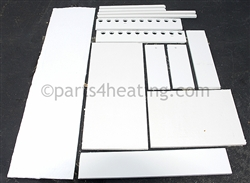 Raypak Delta Limited 007763F Refractory Kit (All Panels)