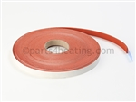 RBI 06-0146 Red Silicone Gasket (per ft / per roll 50 ft.)