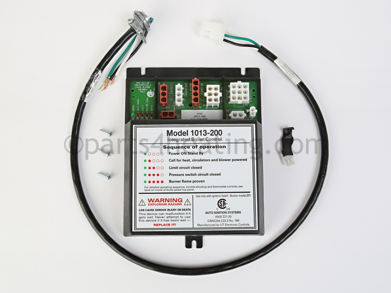 Parts4heating.com: Weil-McLain 1013-200 GV Gold Ignition Control Kit