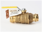 1 IN. LF-Brass Ball Valve - Press x Press