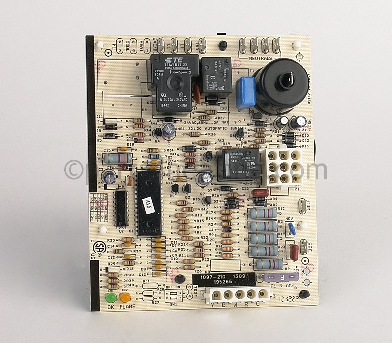 Reznor 1097 83 21113a Ignition Control Board