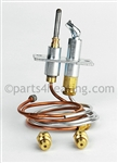 Reznor F 110851 Complete replacement pilot for natural gas, match lit pilot.