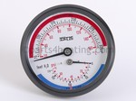 Teledyne Laars 2400-394 Temperature Gauge, 70-320 F, 0-170 PSI