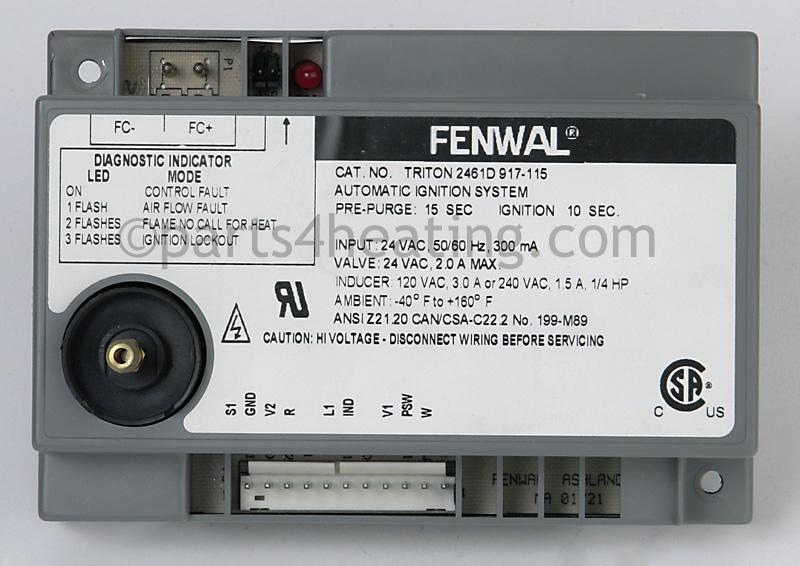 parts4heating com fenwal 2461d917 115 control replacement rh parts4heating com