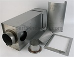 Teledyne Laars 2500-009 Universal Balanced Flue (replaces 2500-006/2500-007)