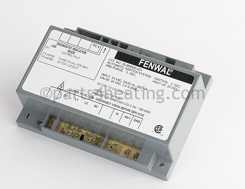 Parts4heating Com Fenwal 35 655500 001 Ignition Control Module