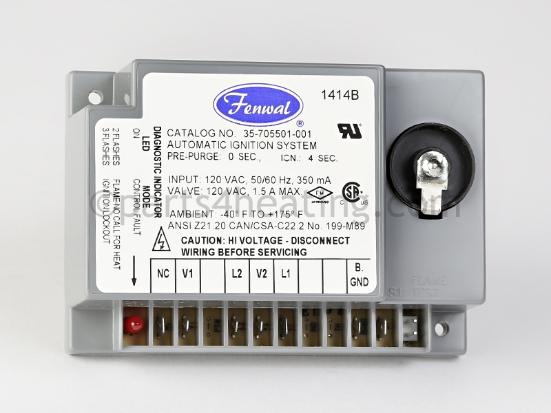 Fenwal 35705501001 Direct Spark Ignition Control Modulerhparts4heating: Fenwal Ignition System Wiring Diagram At Gmaili.net
