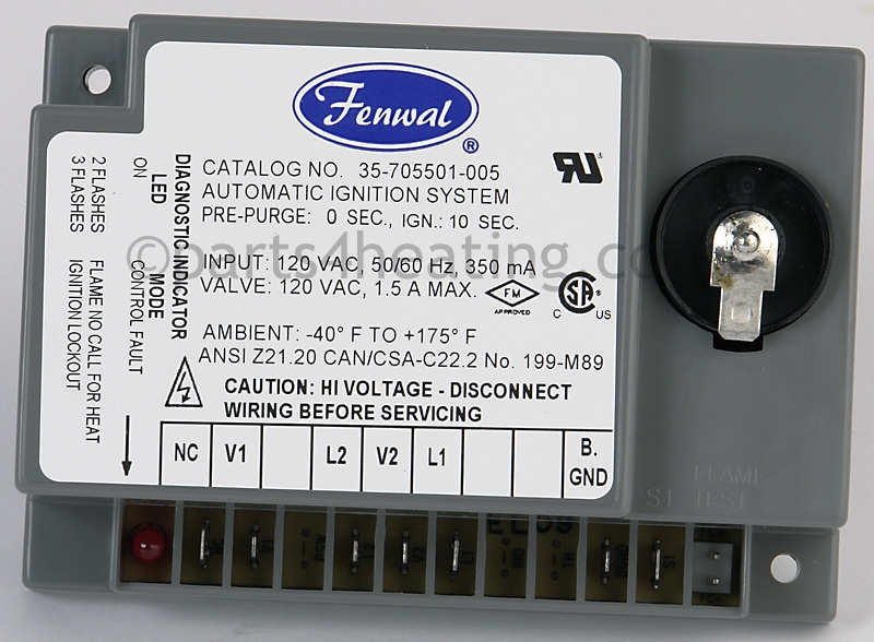 Parts4heating Fenwal 35705501005 Ignition Control Board. Fenwal 35705501005 Ignition Control Board. Wiring. Fenwal Wiring Diagrams At Scoala.co