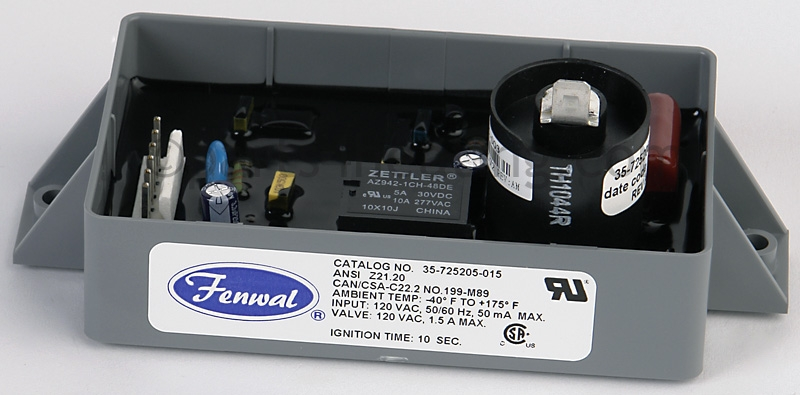 parts4heating com fenwal 35 725205 015 ignition control board rh parts4heating com Solar Battery Bank Wiring Diagram Fenwal Ignition Module Installation