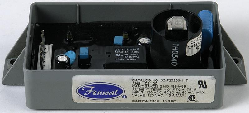 parts4heating.com: fenwal 35-725206-117 ignition control 120v ac dsi  parts4heating.com